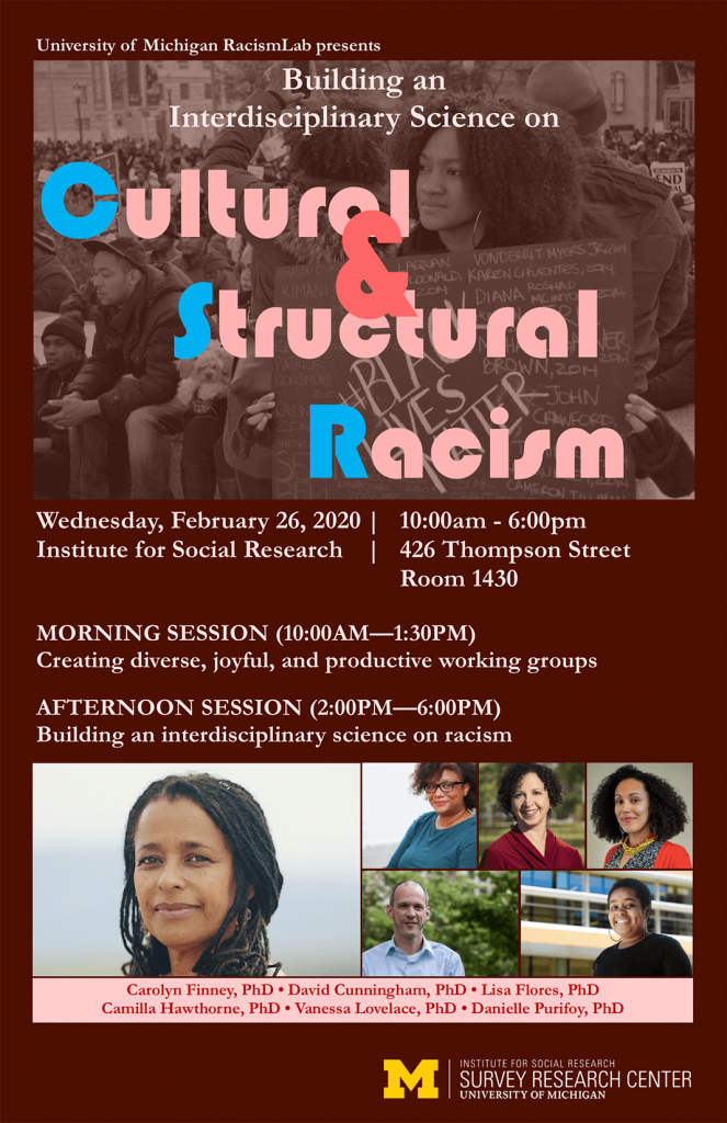 Cultural & Structural Racism poster